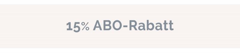 15% ABO-Rabatt